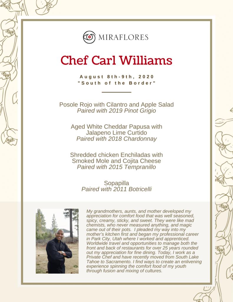 August 8 & 9 Carl Williams (1)